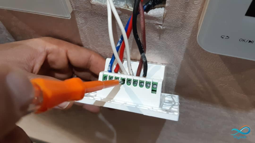 مراحل نصب کلید لمسی به صورت گام به گام