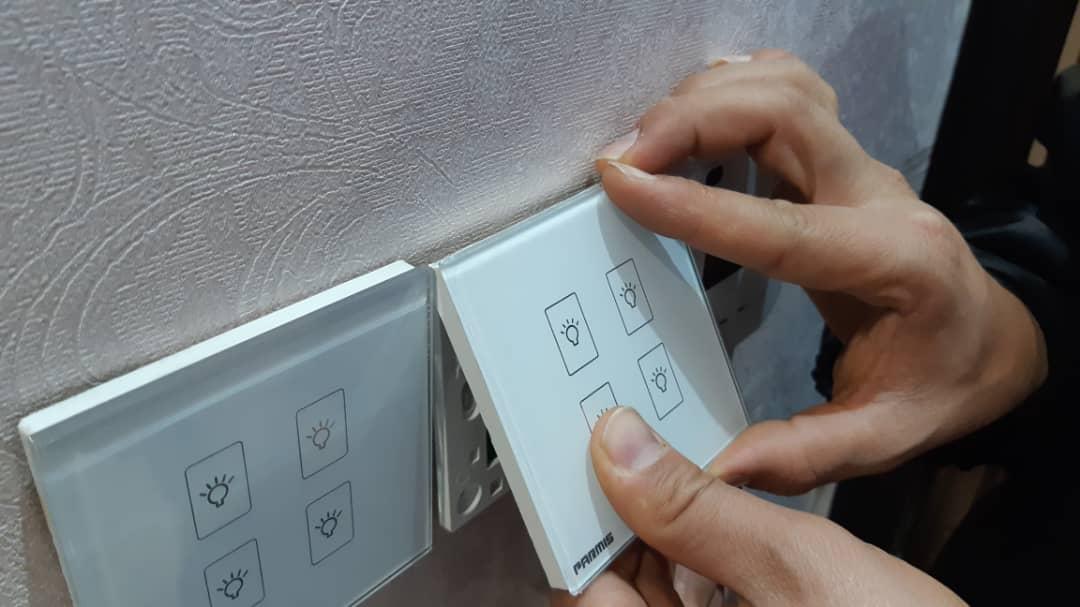 نصب قوطی کلید لمسی پارمیس