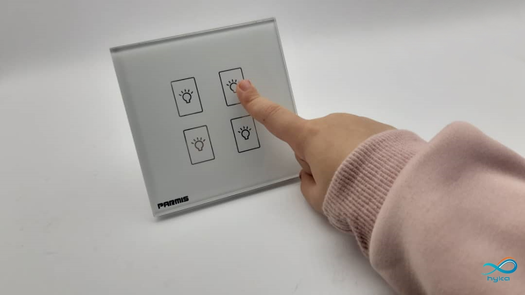 کارایی ساده کلید لمسی