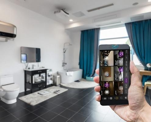 پرده های هوشمند-خانه هوشمند هایکا