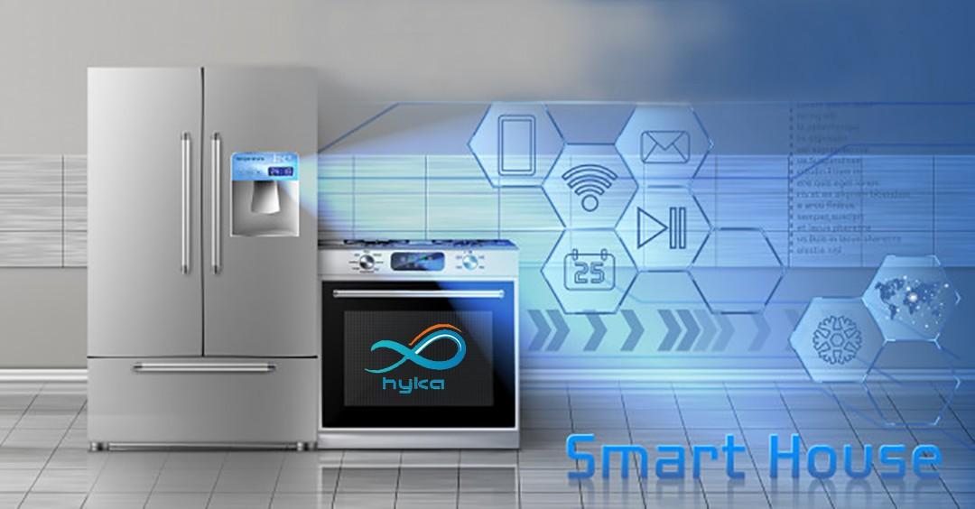 کنترل یخچال و گاز به صورت هوشمند
