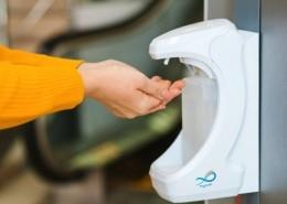 دستگاه ضد عفونی کننده دست پارمیس