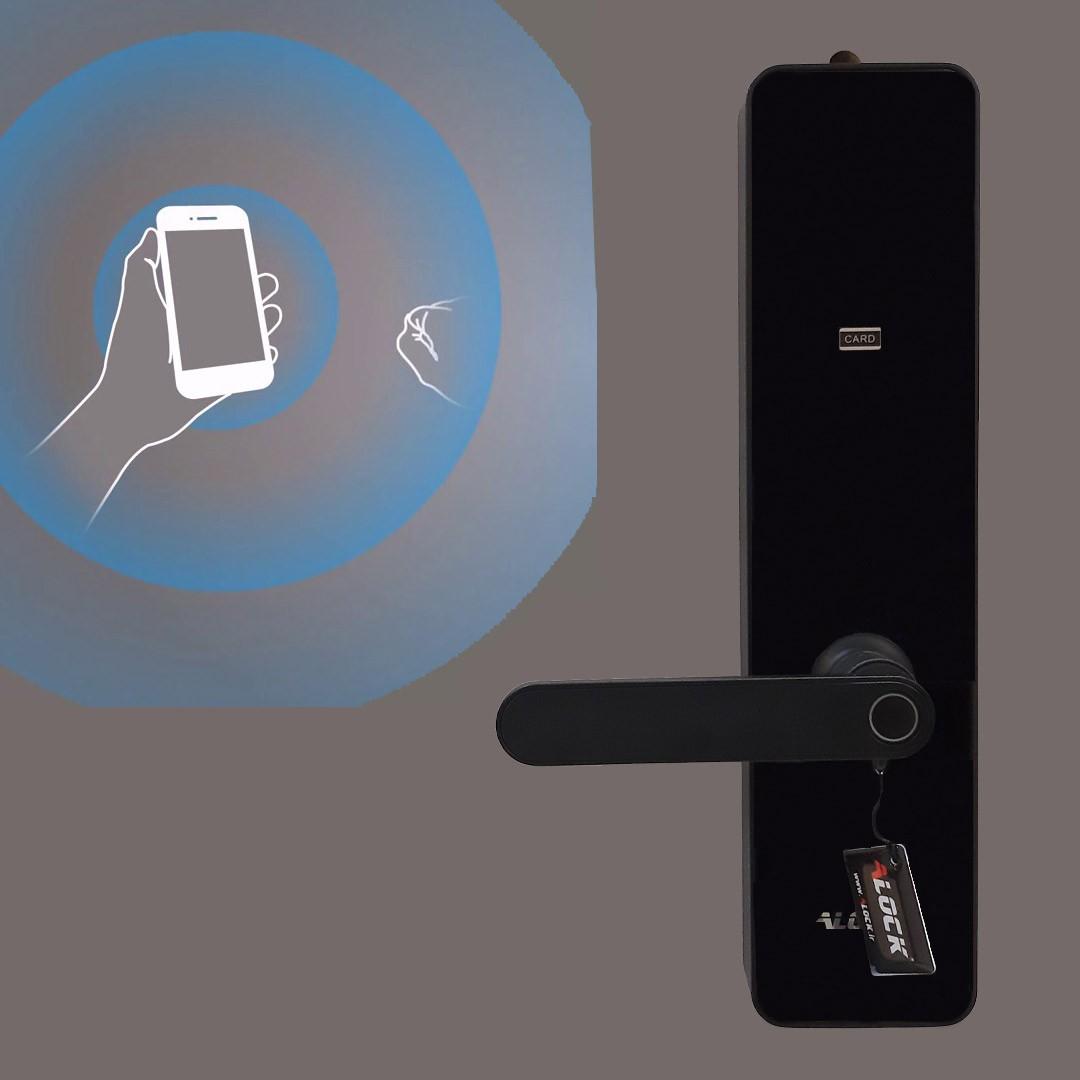دستگیره هوشمند و کنترل از طریق موبایل