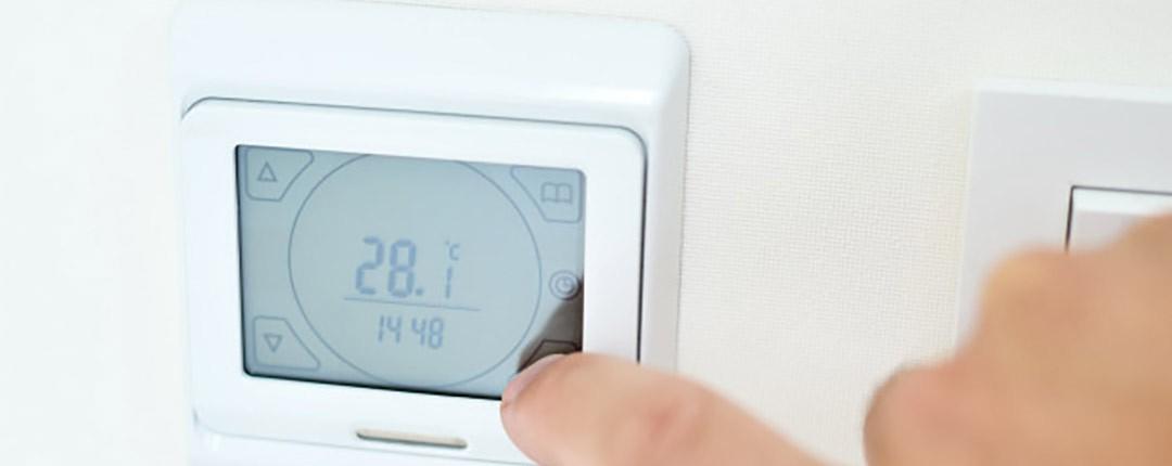 کنترل دما در سیستم سرمایش از کف