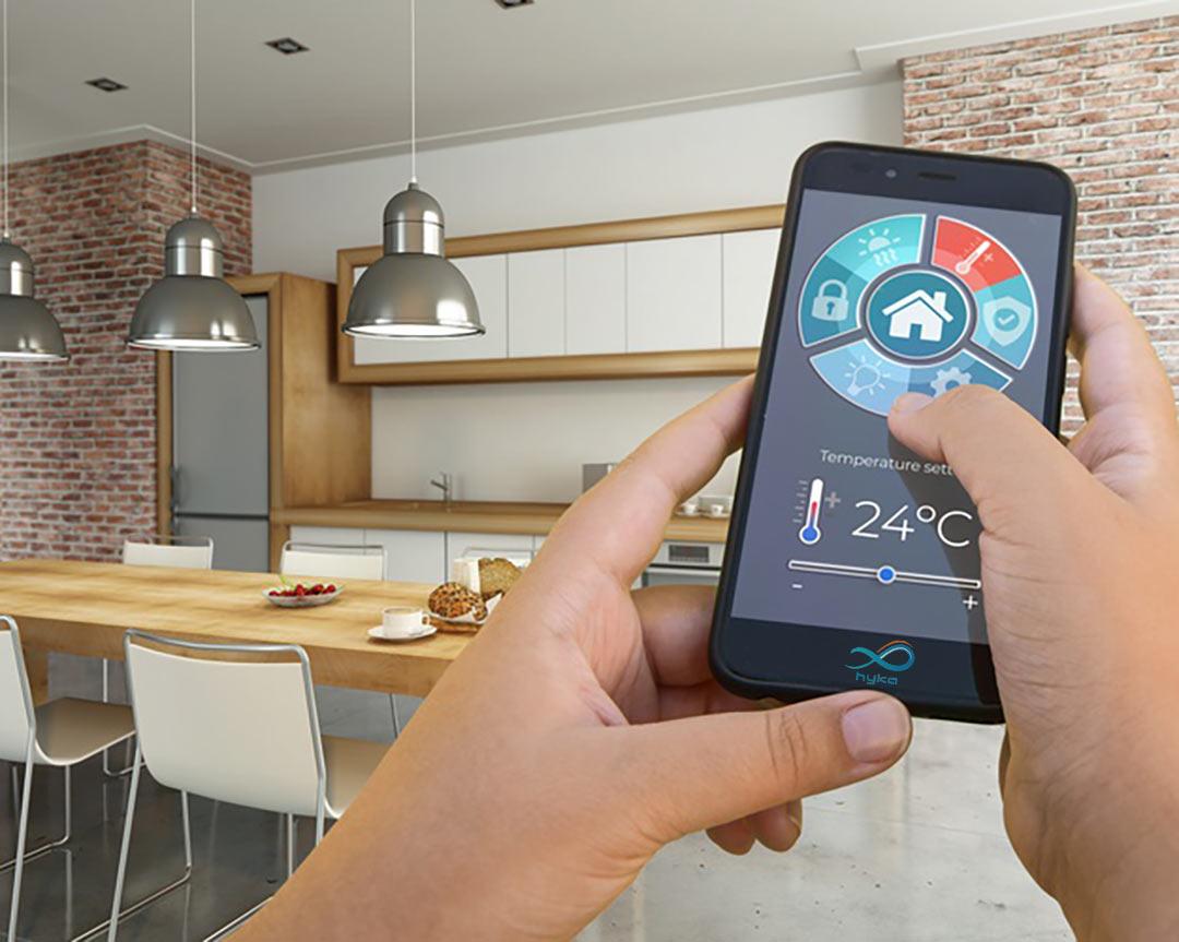 کنترل روشنایی با موبایل